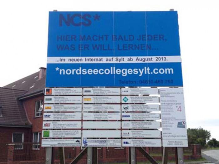 Wars tatsächlich ein ehrgeiziges Projekt oder von vornherein nur Pseudo-Inszenierung? Das Nordsee-College in List ist tot.
